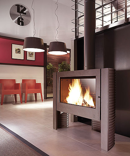 itaya 15kw woodburning stove. Black Bedroom Furniture Sets. Home Design Ideas
