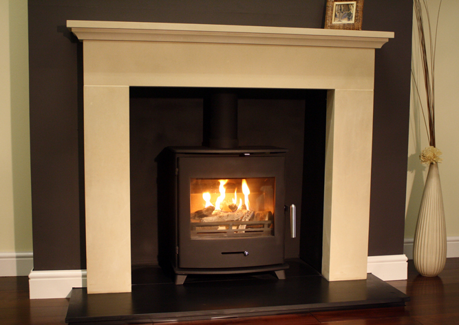 Newbourne Stove in roomset